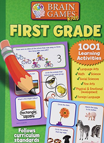 First Grade 1001 Learning Activities