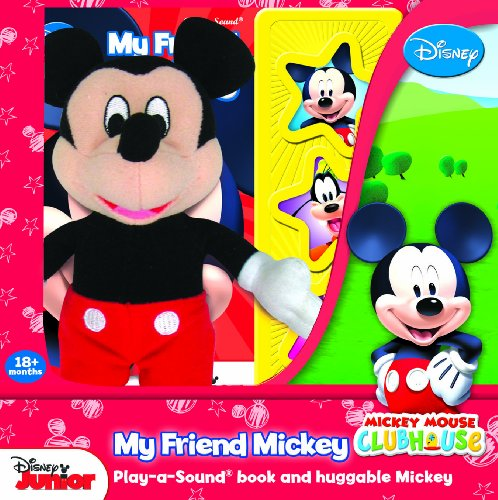 9781450861571: Mickey Mouse Clubhouse: My Friend Mickey: Play-a-Sound and Huggable Mickey