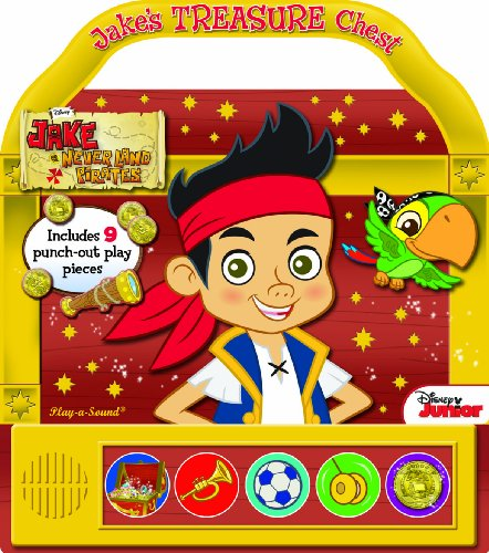 9781450861960: Jake & the Never Land Pirates - Jake's Treasure Chest (Little Handle Book)