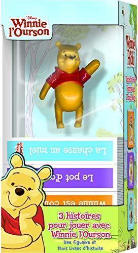 9781450864305: 3 histoires pour jouer avec Winnie l'Ourson : Une figurine et trois livres d'histoires