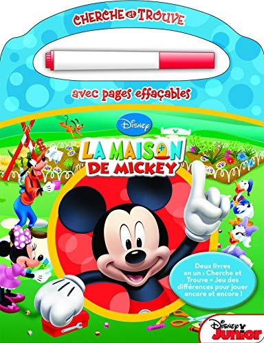 9781450864947: La maison de Mickey - Chercher et trouve magique