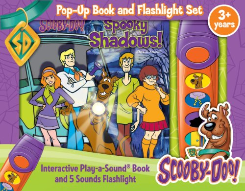 9781450866026: Scooby Doo: Spooky Shadows: Pop Up Book and Flashlight Set