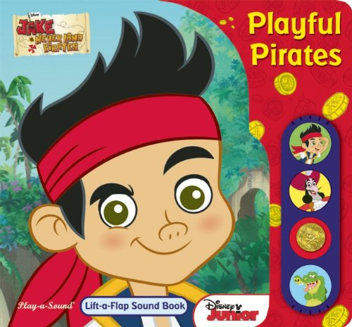 9781450867726: Jake and the Neverland Pirates: Playful Pirates: Play-a-Sound Book