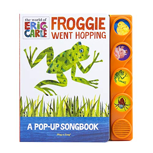 9781450868211: The World of Eric Carle® Froggie Went Hopping: A Pop-Up Songbook