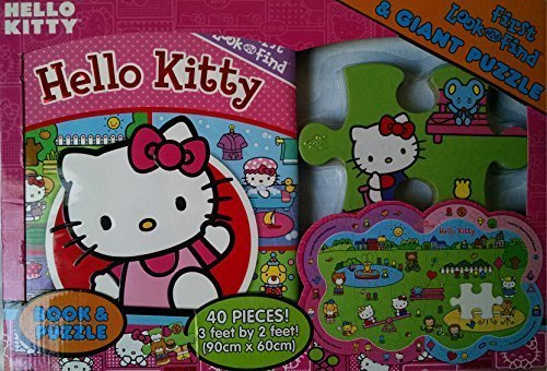 Hello Kitty Book and Puzzle Gift Set