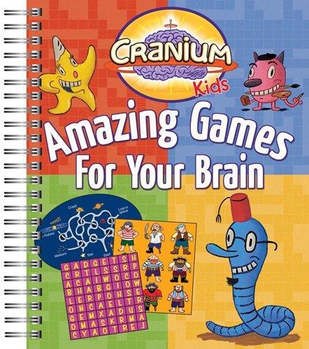 9781450873055: Cranium Kids Amazing Games for Your Brain
