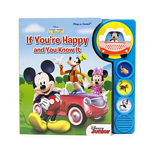 9781450874373: Disney Junior - Mickey Mouse Clubhouse If You're Happy and You Know It - Play-a-Sound - PI Kids