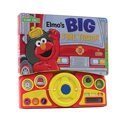 9781450874427: Sesame Street: Big Fire Truck (Steering Wheel Sound Book)