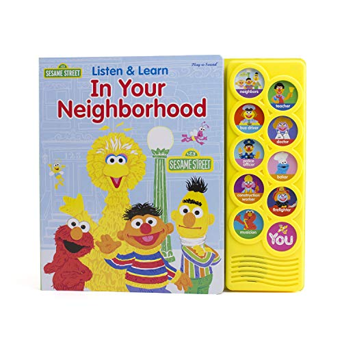 9781450875196: Sesame Street® Listen & Learn In Your Neighborhood (Play-A-Sound Books)