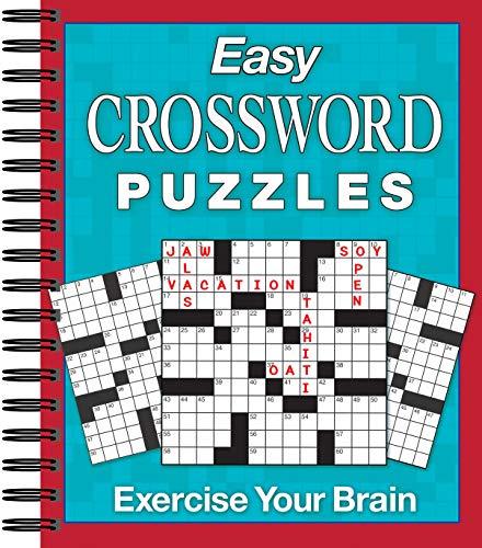 9781450875646: Easy Crossword Puzzles