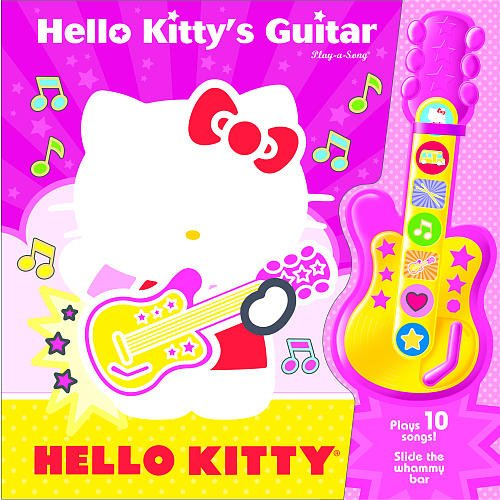 Hello Kitty's Guitar and Book