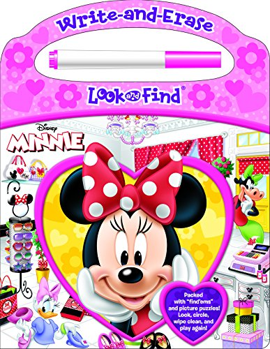 9781450879187: Write-and-Erase Look and Find® Disney Minnie: Packed with 'find 'ems