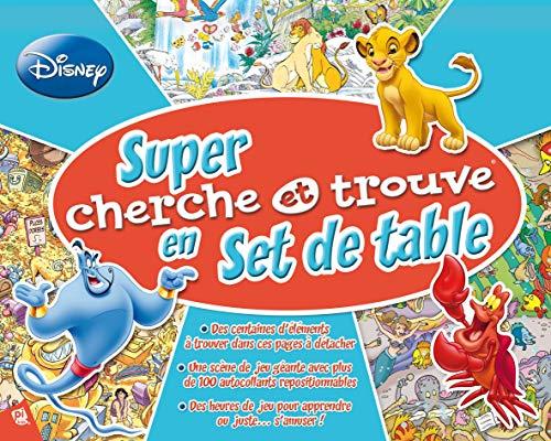 9781450880206: Super cherche et trouve en set de table