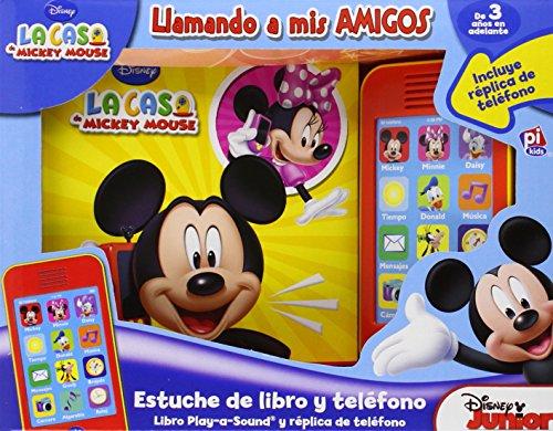 9781450880312: La Casa De Mickey. Libro Y Set Teléfono (Con Sonidos)