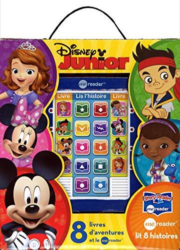 9781450883955: 8 livres d'aventure et le me reader Disney Junior : L'amulette de Sofia ; Jake à la rescousse ; Mickey à la ferme ; Vroom, vroom ; Doc à du nez ; La ... ; Jake et l'oeuf d'or ; Un désordre royal