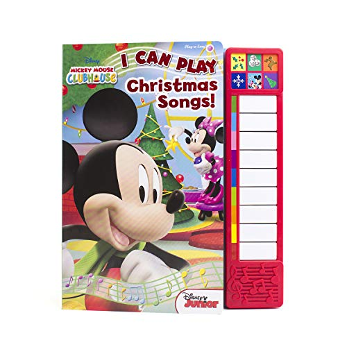 9781450885157 disney mickey mouse clubhouse i can play christmas songs - Mickey Mouse Christmas Songs