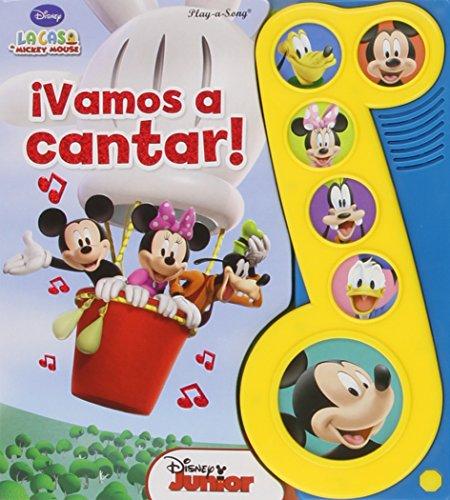9781450886888: La Casa de Mickey Mouse ¡Vamos a cantar!