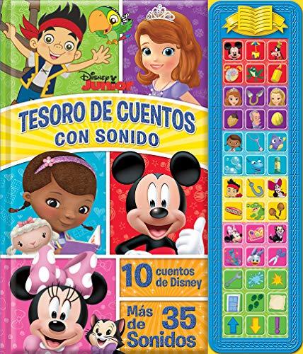 9781450887892: Tesoro De Cuentos Con Sonidos Disney Junior