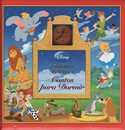 9781450891035: Disney. 3 Minutos de Leitura. Contos Para Dormir (Em Portuguese do Brasil)
