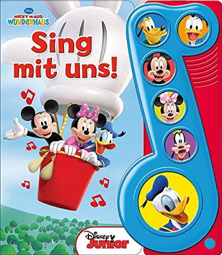 9781450891103: Micky Maus, Sing mit uns - Liederbuch mit Sound - Disney - Pappbilderbuch mit 6 Melodien