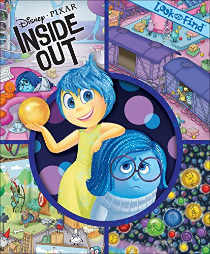 9781450891189: Disney® Pixar Inside Out Look and Find®