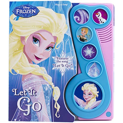 Frozen Let It Go Little Music Note Sound Book