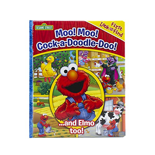 Sesame Street: Moo Moo! Cock-a-Doodle-Do! My First Look and Find (Hardcover)