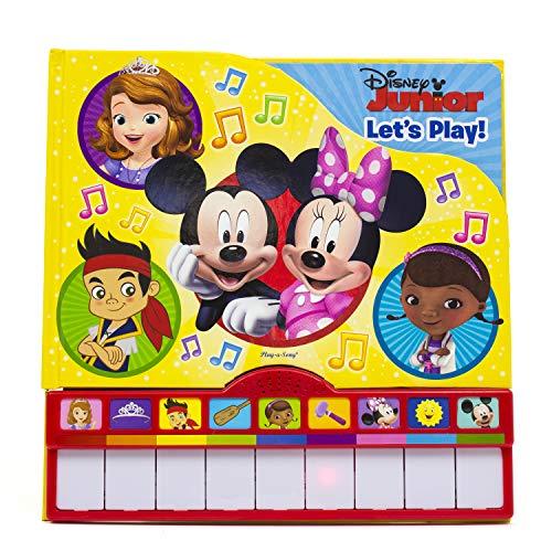 9781450894005: Disney Junior Piano Book Mini-Deluxe Sound Book