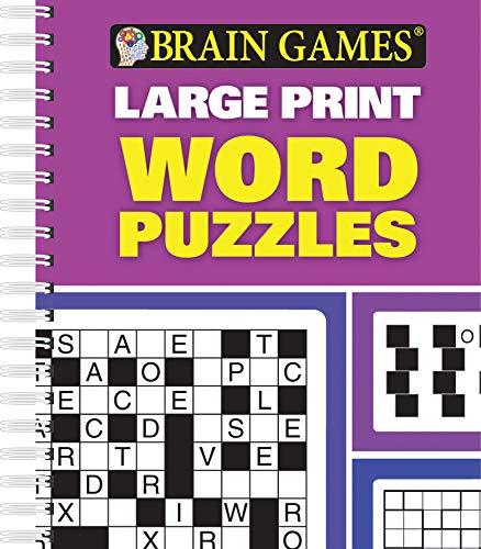 Brain Games Large Print Word Puzzles: Publications International, Ltd.