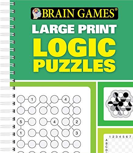 9781450894395: Brain Games® Logic Puzzles (Large Print)