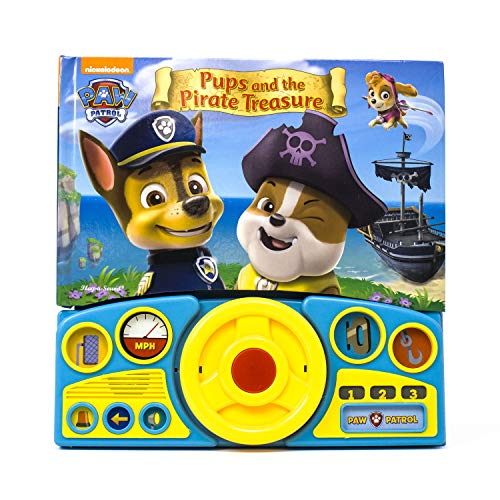 9781450896740: Paw Patrol - Pups & the Pirate Treasure Steering Wheel Book