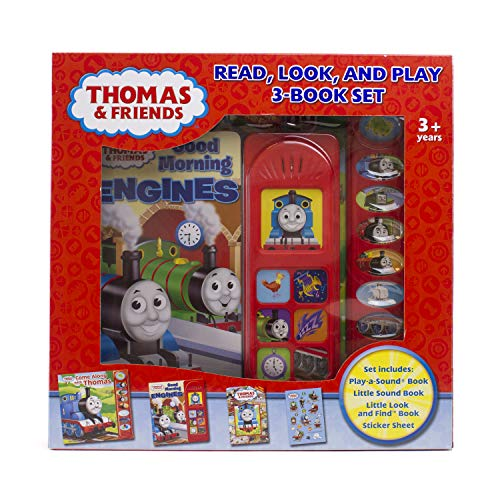 9781450897549: Thomas & Friends Read, Look, and Play 3-Book Set