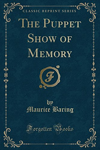 9781451000665: The Puppet Show of Memory (Classic Reprint)