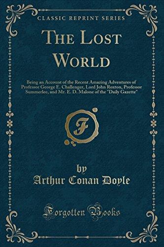 9781451002799: The Lost World (Classic Reprint)