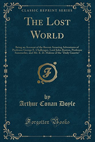 9781451002799: The Lost World (Classic Reprint)