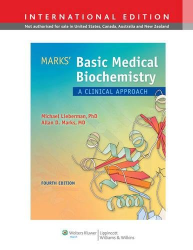 Marks Basic Medical Biochemistry 4e Inte: Lieberman, M. A.