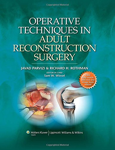 9781451102628: Operative Techniques in Adult Reconstruction Surgery