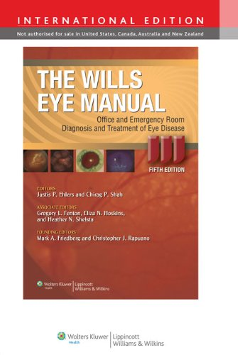 9781451108606: The Wills Eye Manual: Office and Emergency Room Diagnosis and Treatment of Eye Disease
