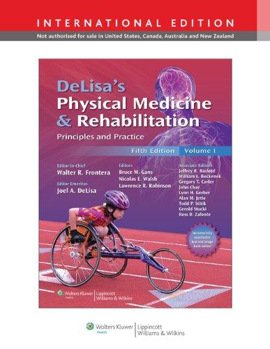 9781451109115: Delisas Physical Medicine & Rehabilitati