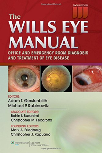 9781451109382 the wills eye manual office and emergency room rh abebooks com Wills Eye Manual Marginal Lid Laceration the wills eye manual - 6th ed
