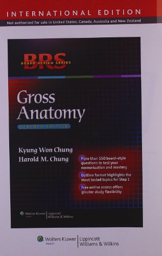 9781451110463: BRS Gross Anatomy (Board Review Series)