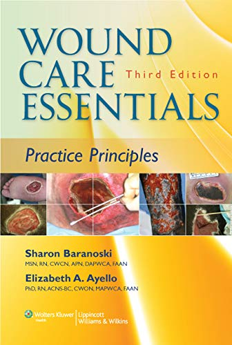 9781451113044: Wound Care Essentials: Practice Principles (Baraonski, Wound Care Essentials)
