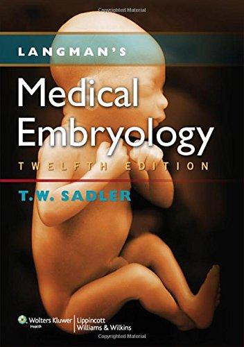 9781451113426: Langman's Medical Embryology (Longmans Medical Embryolgy)