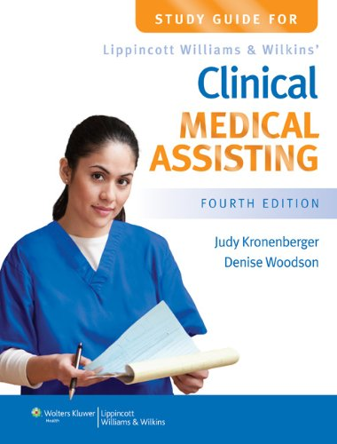 9781451115765: Study Guide for Lippincott Williams & Wilkins' Clinical Medical Assisting