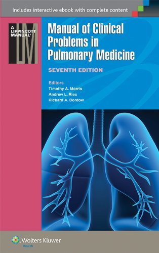 9781451116588: Manual of Clinical Problems in Pulmonary Medicine (Lippincott Manual Series (Formerly Known as the Spiral Manual Series))