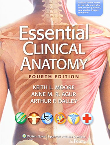9781451116700: Essential Clinical Anatomy, 4e, NA and Lippincott Williams & Wilkins Atlas of Anatomy Package