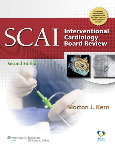 9781451117868: SCAI Interventional Cardiology Board Review