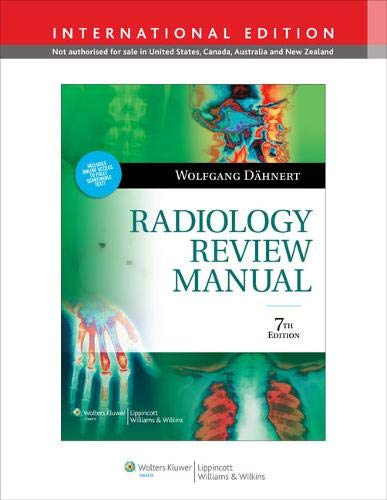 9781451118124: Radiology Review Manual