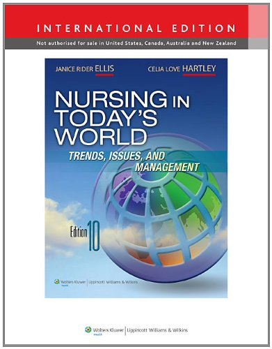 9781451118209: Nursing in Today's World
