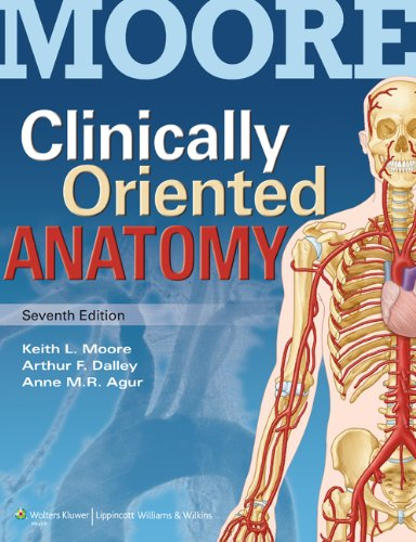 9781451119459: Clinically Oriented Anatomy with Access Code